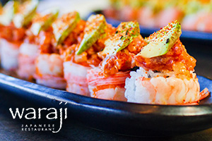 Waraji Japanese Restaurant - Social Media & Email Marketing, Responsive Web Design