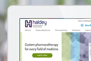 Haldey Pharmaceutical Compounding - Responsive Design & Development, SEO