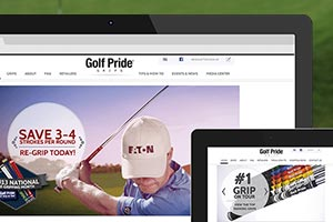 Golf Pride  - Full Service Digital Strategy