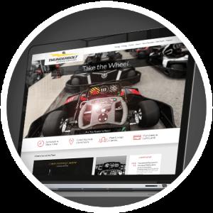 Thunderbolt Website Homepage