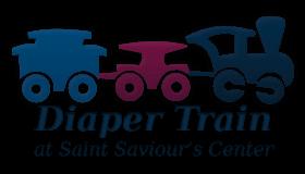 Diaper Train at Saint Saviour's Center Logo