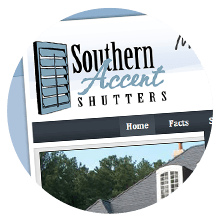 Southern Accent Shutters Logo