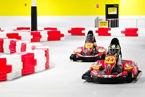 Thunderbolt Indoor Karting - Responsive Design & Development, SEO & Social Media
