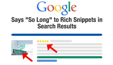 Google says goodbye to rich snippets