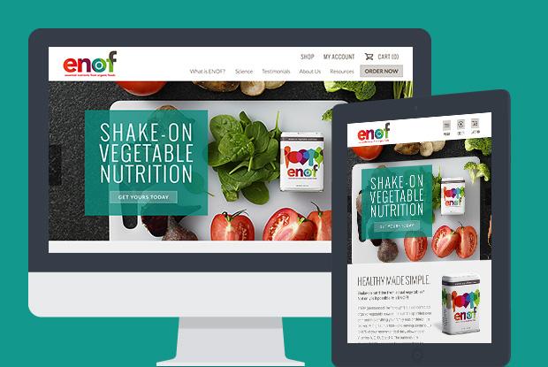 Simply ENOF - Responsive Design & Development, Magento E-Commerce Integration, SEO, Content Strategy