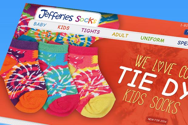 Jefferies Socks - Responsive B2B Ecommerce Site