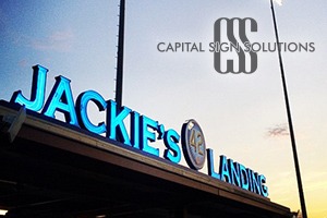 Capital Sign Solutions - Website Re-Design