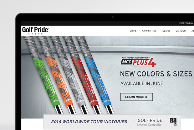 Golf Pride - Product Launch 2016