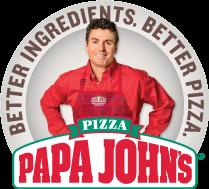 papa johns logo 2016