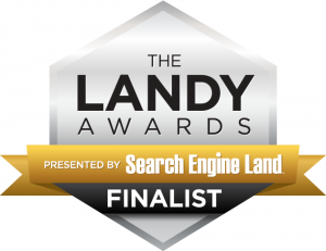 landy awards finalist badge
