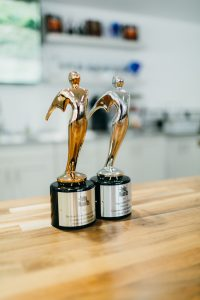 two telly awards