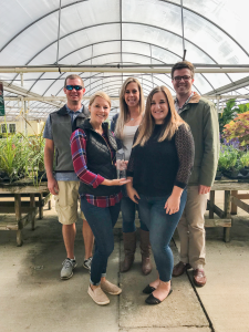 TriMark Digital team at Fairview Garden Center