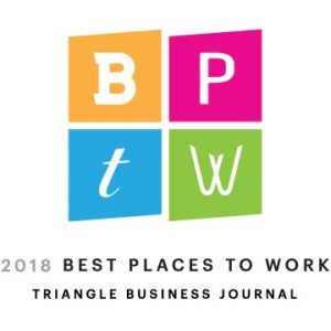 2018 best places to work by triangle business journal