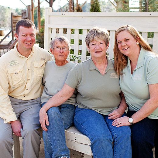 The Fairview Garden Center family