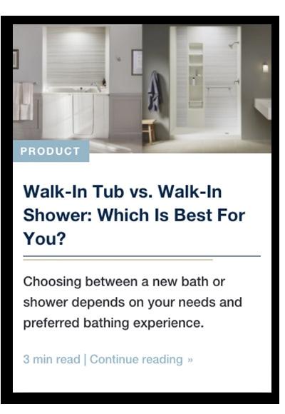 Image of blog post for KOHLER Walk-In Bath